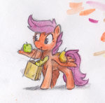 apples bag bread onkelscrut pear scootaloo