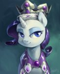 audrarius crown highres portrait princess_platinum rarity robe