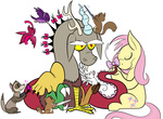 bird bow chipmunk discord ferret fluttershy karpet-shark mouse nail_polish squirrel toothbrush