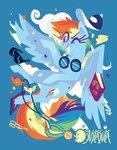 book glasses goggles justasuta rainbow_dash sunglasses whistle