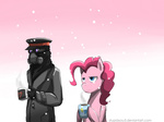 captain coffee humans pinkie_pie romantically_apocalyptic snowing stupidyou3 winter