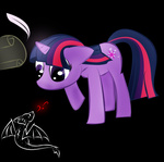 dragon quill twilight_sparkle zomgitsalaura