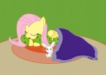 angel fluttershy highres pajamas sir_radical
