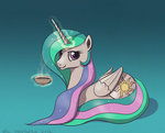 el-yeguero magic princess_celestia tea