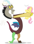 discord fluttershy highres mattyhex plushie toy transparent vector