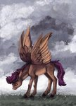 cloud highres rain scootaloo weird--fish