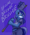 anthro atryl brushie minuette toothbrush toothpaste