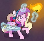crossover crypt_of_the_necrodancer cuteosphere princess_cadance weapon