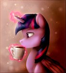 coffee coffee_cup magic mug princess_twilight twilight_sparkle unilx