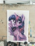 colorfulcolor233 highres princess_twilight traditional_art twilight_sparkle