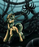 applejack inuhoshi-to-darkpen rope vine