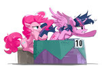 coldrivez pinkie_pie princess_twilight twilight_sparkle