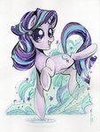 highres sararichard starlight_glimmer traditional_art