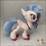 ketikacraft photo plushie silverstream toy