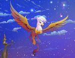 cloud flying gilda highres stars viwrastupr