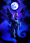 f-ay highres moon nightmare_moon