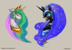 chirpy-chi nightmare_moon princess_celestia