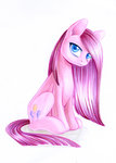 maytee pinkamena_diane_pie pinkie_pie traditional_art