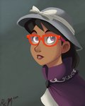 a._k._yearling daring-do glasses hat highres humanized ric-m