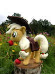 applejack apples auction for_sale geek-on nature photo plushie toy