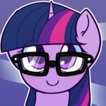 glasses puetsua twilight_sparkle