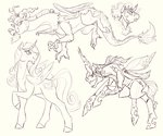 discord king_sombra princess_cadance queen_chrysalis yowza-buckaroo