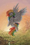 flying highres koviry rainbow_dash
