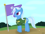 flag mikoruthehedgehog the_great_and_powerful_trixie uniform