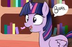 balloons504 books! drool library princess_twilight twilight_sparkle