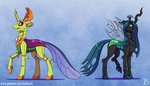 inuhoshi-to-darkpen queen_chrysalis thorax
