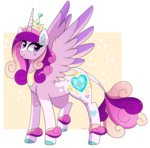 absurdres emera33 highres princess_cadance redesign