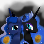 bread hoyeechun magic nightmare_moon princess_luna