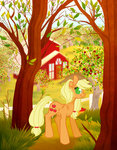 applejack sweet_apple_acres toffec
