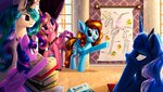 alicorn anatomy book lulemt original_character princess_cadance princess_celestia princess_luna princess_twilight skeleton twilight_sparkle