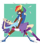 equestria_girls feellikeaplat highres humanized rainbow_dash raridash rarity