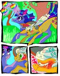 applejack apples magic njeekyo shipping tree twijack twilight_sparkle zap_apples