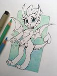 highres smolder traditional_art zoliklispp