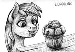 derpy_hooves muffin sa1ntmax traditional_art