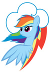 3luk cutie_mark highres kas92 portrait rainbow_dash transparent