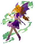 adagio_dazzle dark_magic equestria_girls highres humanized magic magneticskye shapeshifting