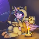 alasou book candle costume highres owlowiscious princess_twilight twilight_sparkle
