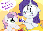 comic highres rarity reaction_image sweetie_belle tess