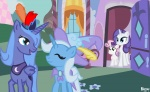 kadjule princess_luna rarity sweetie_belle the_great_and_powerful_trixie