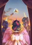 absurdres anticularpony dress highres magic princess_celestia princess_luna princess_twilight twilight_sparkle