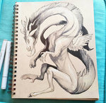 discord dragonspirit469 traditional_art