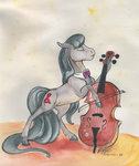 cello highres horselike instrument octavia_melody sagastuff94 traditional_art