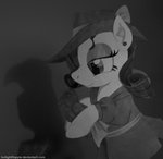bird clothes detective foxxy-arts hat highres noirity rarity
