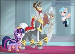 absurdres cozy_glow highres king_vorak princess_twilight queen_haydon twilight_sparkle vectorvito