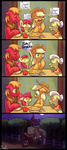 apple_bloom applejack apples big_macintosh bindle coffee comic granny_smith pie siden