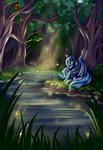 absurdres forest grennadder highres pool princess_luna